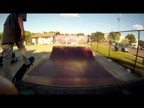 Go Pro Test Buffalo Minnesota Skate Park