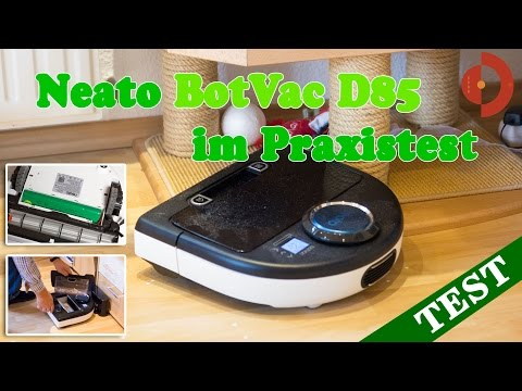 Neato BotVac D85 im Praxistest
