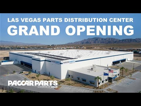 Las Vegas PACCAR Parts Distribution Center Virtual Grand Opening