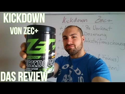 Booster Review: Kickdown von Zec+ Nutrition im Test