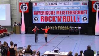 Lydia Herrich & Johannes Guha - Bayerische Meisterschaft 2014