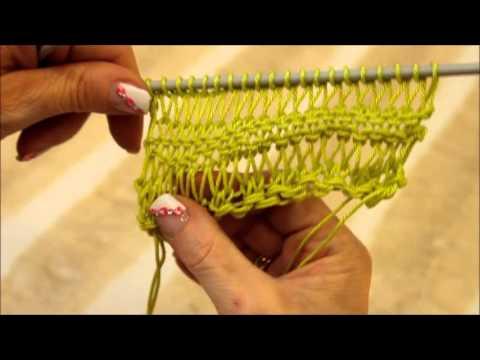πλεξιμο - 4 Βίντεο: Καλοκαιρινή πλέξη - Summer knitting.