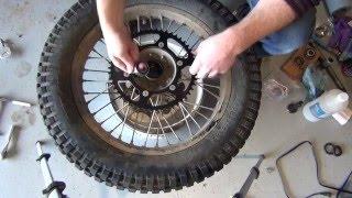 7. All Balls Racing - 2012 Gas Gas EC300 Rear Wheel Bearings/Seal Install