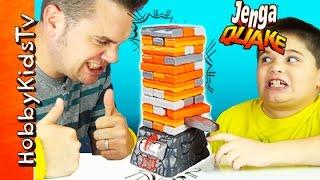 Jenga Quake Game Night