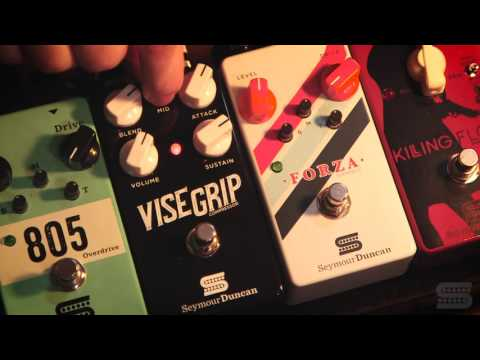 Seymour Duncan - Vise Grip Compressor Pedal (USA Made Version)