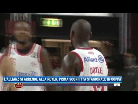 09/09/2020 - L'ALLIANZ SI ARRENDE ALLA REYER, PRIMA SCONFITTA STAGIONALE IN COPPA