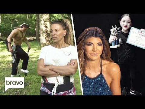 Frankie Has A Strange Obsession & Audriana Is A Dancing Star | RHONJ Kids Highlights | Bravo