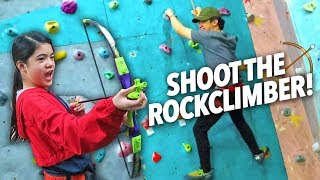 Video Shoot The Rock Climber (Stuck on Top Prank) | Ranz and Niana MP3, 3GP, MP4, WEBM, AVI, FLV Desember 2018