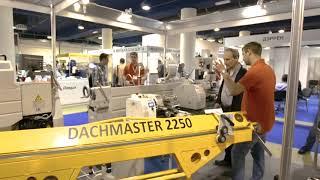 Мобильный проходной листогиб DachMaster 2250