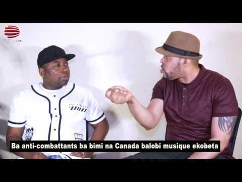 TÉLÉ 24 LIVE: Eyindi ba anti-combattants ba bimi na Canada balobi musique ekobeta
