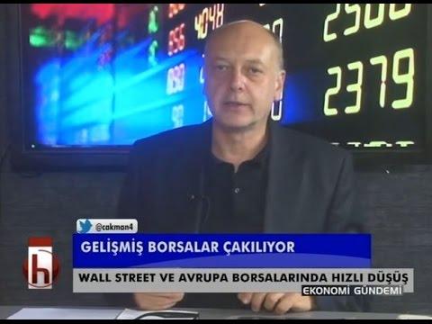 Dr. Cüneyt Akman'la Ekonomi: Gelişmiş piyasalar çakılıyor