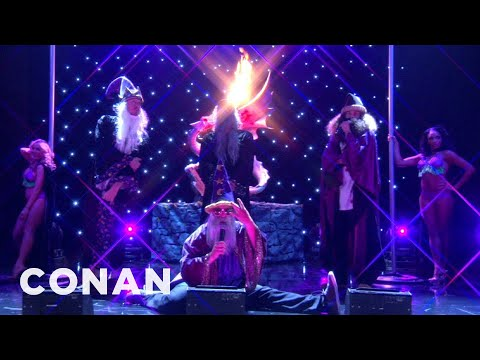 """The Cast of Workaholics Performs """"Straight Outta Mordor""""  - CONAN on TBS"""