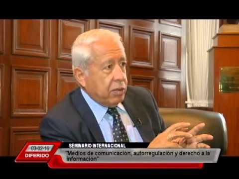 #SeminarioComunicacion Congreso - Entrevista a Juan Paredes Castro