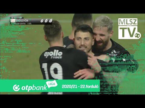22. forduló: Fehérvár - DVTK 1-3 (1-0)