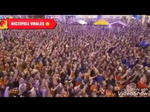 Festejos en todo el mundo por la victoria de Croacia vs Inglaterra