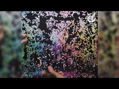CMYK Spectrum 5,000 Piece Jigsaw Puzzle