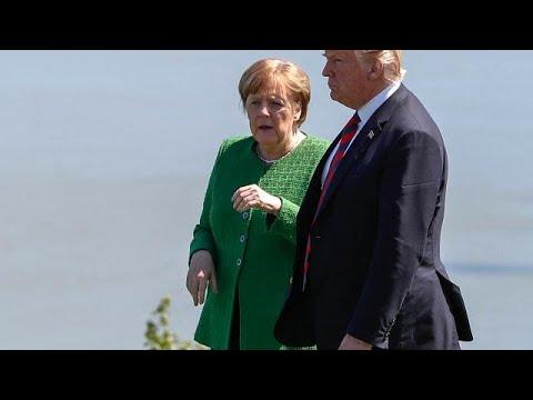 Merkel zu Trump:
