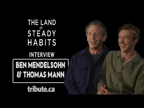 Ben Mendelsohn & Thomas Mann - The Land Of Steady Habits Interview