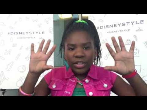 Trinitee Stokes at Destination: Disney Style Launch Party