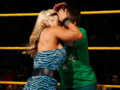 Diva) - WWE NXT: NXT Rookie Diva Challenge - Kissing Contest, part one.