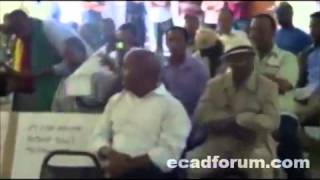 San Diego, California Ethiopians Protest Against TPLF