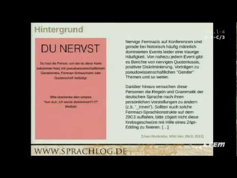 sprache - streamdump von 29c3 Sprache, Ungleichheit und Unfreiheit by Anatol Stefanovitsch http://events.ccc.de/congress/2012/Fahrplan/events/5336.en.html.