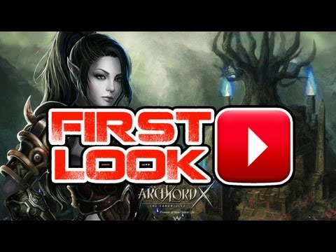 Archlord X Gameplay Commentary – First Look HD