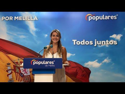 """""""Desde abril de 2020 el PP ha venido advirtiendo al gobierno de la Ciudad de lo que iba a ocurrir con los barcos"""".""""Un contrato marítimo mal gestionado para Melilla que hora estamos padeciendo""""."""
