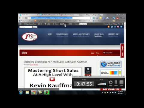 How to use Social Media in Your Real Estate Business – Class Held April 3, 2013