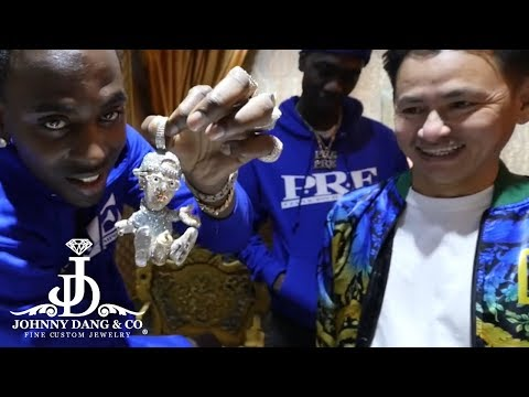 Young Dolph's New $100k Custom Pendant