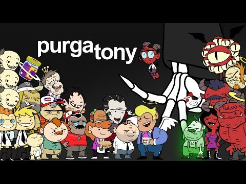 Purgatony Trailer - A new animated series from Explosm on Blackpills