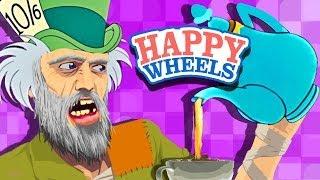 HE'S INSANE!!! - Happy Wheels