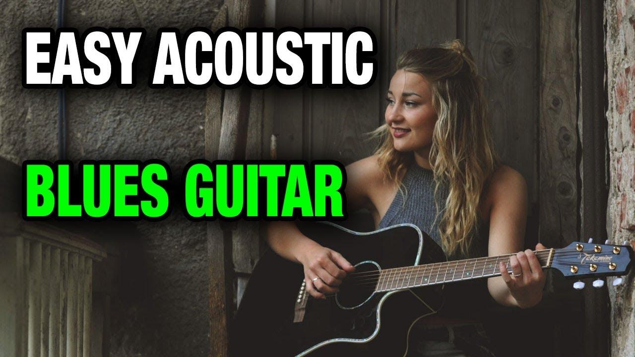Acoustic Blues Guitar Lesson 12 bar blues