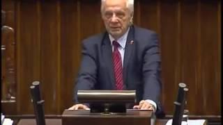 PiS chce dekomunizować, a wprowadza dyktaturę – Niesołowski po mistrzowsku