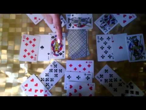 Четыре карты одной масти в королевском покере последовательность