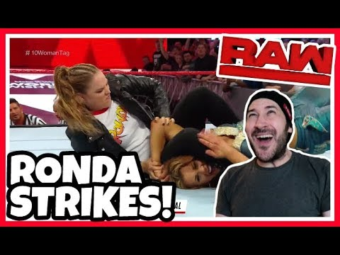 Reaction | RONDA ROUSEY Puts MICKIE JAMES In A Vicious Armbar | WWE RAW April 23, 2018
