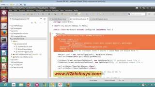 Big Data Hadoop Training | Hadoop Word Count Example Tutorial 9 (Part 1) | H2kinfosys