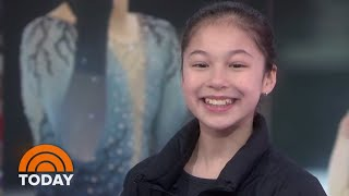 Alysa Liu On What Tara Lipinski Told Her After Breaking Her Skating Record | TODAY