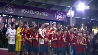 EM 2012: Spanien feiert den Titel