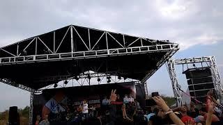 Rompoet hijau menggapai hati live at Pesona festival tanjung lesung