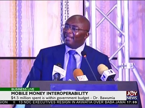 Mobile Money Interoperability - Business Live on JoyNews (16-5-18)