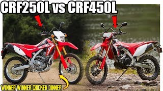 10. Why The CRF250L Is BETTER Than The All New CRF450L..