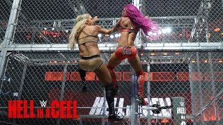 Nonton Sasha Banks Fights Back Against Charlotte Flair  Wwe Hell In A Cell 2016 Film Subtitle Indonesia Streaming Movie Download