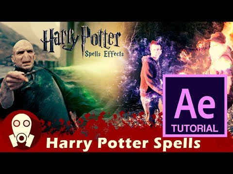 TUTORIAL | Como Hacer Efecto Harry Potter En After Effects | Spell And Protego Effects.