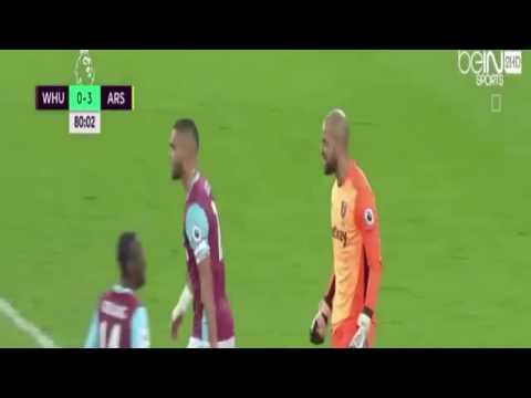Alexis Sanchez second Goal - Arsenal vs West Ham United 3-0 ~03-12-2016
