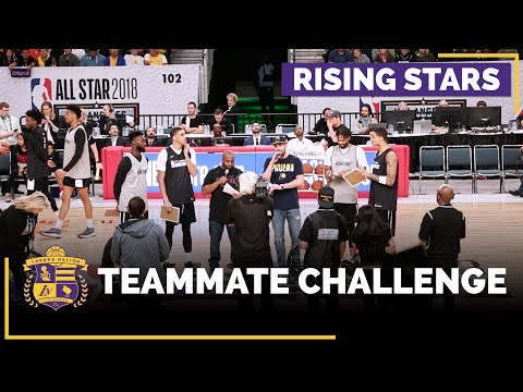 Video: NBA All-Star 2018: How Well Do You Know Your Teammate? (Lakers vs. Celtics)