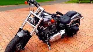 7. Harley Davidson Softail Breakout FXSB 2014 Extras