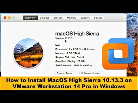 How to Install MacOS High Sierra 10.13.3 on VMware Workstation 14 Pro in Windows (Complete Tutorial)