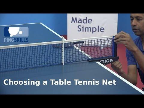 Choosing a Table Tennis Net | PingSkills