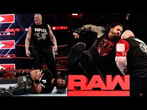 "WWE Monday Night RAW ""20th May 2019"" Full Highlights : Brock Lesnar, Seth Rollins, Roman Reigns"